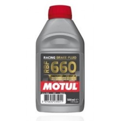 MOTUL RACING RBF660 FACTORY LINE 100% SYNTHETIC BRAKE OIL