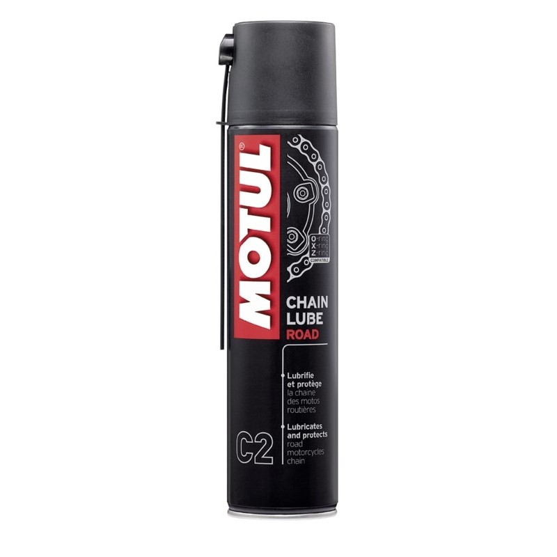MOTUL SPRAY LUBRICANT FOR ROAD MOTORCYCLE TRANSMISSION CHAINS
