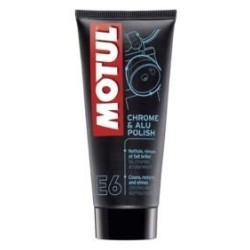 MOTUL E6 CHROME & ALU POLISH CHROME AND ALUMINUM PART CLEANER