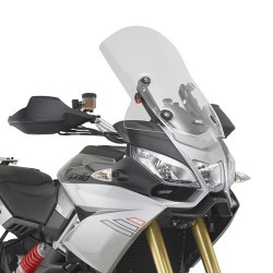 WINDSCREEN GIVI FOR APRILIA CAPONORD 1200 2013/2017, TRANSPARENT