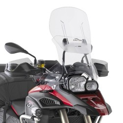 GIVI SLIDING WINDSHIELD FOR BMW F 800 GS ADVENTURE 2013/2018, TRANSPARENT