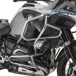GIVI ENGINE GUARD FOR BMW R 1200 GS ADVENTURE 2014/2018, IN STAINLESS STEEL