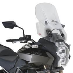 SLIDING SCREEN GIVI AIRFLOW FOR KAWASAKI VERSYS 650 2015/2020, TRANSPARENT