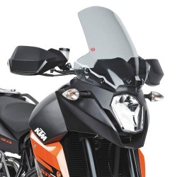WINDSHIELD GIVI FOR KTM SUPERMOTO 990 2009/2014, SMOKED
