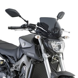 WINDSHIELD GIVI FOR YAMAHA MT-09 2013/2016, SMOKED