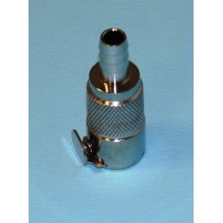 ATTACCO RAPIDO IN METALLO PER TUBO CARBURANTE DIAM. INT. 8 mm