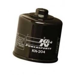 K&N 204 OIL FILTER FOR TRIUMPH TIGER 1050 2007/2015, TIGER SPORT 1050 2013/2020, TIGER EXPLORER 1200 2012/2015