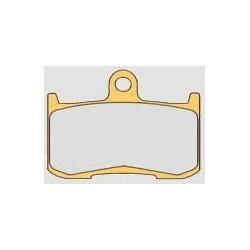 SET CARBON-CERAMIC PADS ZCOO N005 MIX EX-C FOR TRIUMPH DAYTONA 675 2006/2008, STREET TRIPLE 675 R 2009/2016