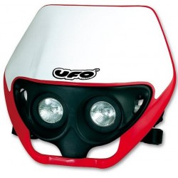 UFO TWINS HEADLIGHT MASK WITH TWO HALOGEN LAMPS 12V 35 / W