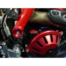 4-RACING FRAME PLUG KIT FOR DUCATI HYPERMOTARD 821 2013/2015
