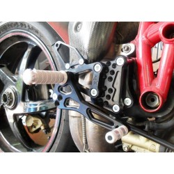 ADJUSTABLE REAR SETS 4-RACING FOR DUCATI 748, 916, 996, 998