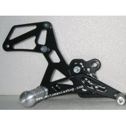 4-RACING ADJUSTABLE REAR SETS FOR SUZUKI GSX-R 600 2001/2005, GSX-R 750 2000/2005, GSX-R 1000 2001/2004