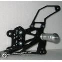 PEDANE ARRETRATE REGOLABILI 4 RACING PER SUZUKI GSX-R 600 2001/2005, GSX-R 750 2000/2005, GSX-R 1000 2001/2004
