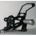 PEDANE ARRETRATE REGOLABILI 4-RACING PER SUZUKI GSX-R 1000 2005/2006 (cambio standard e rovesciato)