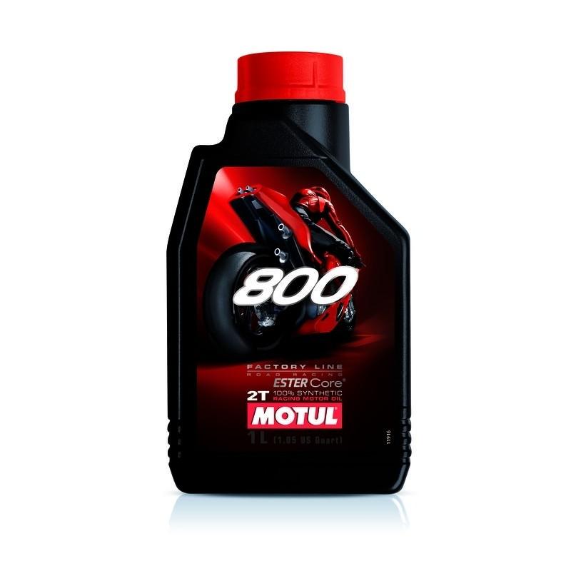 OLIO LUBRIFICANTE MOTUL 800 PER MOTORI A 2 TEMPI ROAD