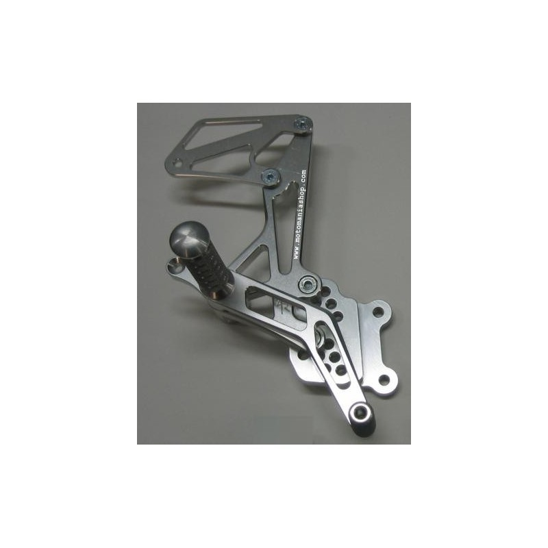 ADJUSTABLE REAR SETS 4-RACING FOR SUZUKI GSX-R 600/750 2006/2010 (standard and reverse shifting)