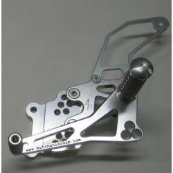 PEDANE ARRETRATE REGOLABILI 4-RACING PER SUZUKI GSX-R 600/750 2006/2010 (cambio standard e rovesciato)
