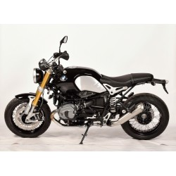 SPARK EVO 5 EXHAUST PIPE IN DARK STEEL FOR BMW R NINE T 2014/2020, APPROVED
