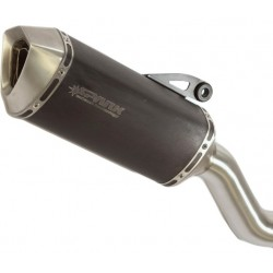 EXHAUST SPARK FORCE STEEL DARK FOR DUCATI MONSTER 821 2014/2017, APPROVED