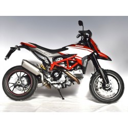 SPARK FORCE CARBON EXHAUST LOW PASSAGE FOR DUCATI HYPERMOTARD 821 2013/2015, HYPERSTRADA 821 2013/2015