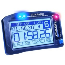 CORSARO-R PROFESSIONAL DOUBLE NETWORK CHRONOMETER GPS + GLONASS WITH WIRELESS SENSOR EXPANSIONS AND TOUCH SCREEN DISPLAY