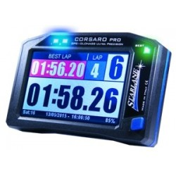 CORSARO PRO DOUBLE NETWORK GPS + GLONASS PROFESSIONAL STOPWATCH EXPANSIONS WIRELESS SENSORS AND TOUCH SCREEN DISPLAY