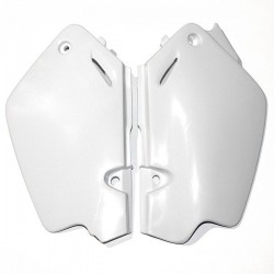 UFO LATERAL NUMBER SIDE PANELS AS ORIGINAL FOR HONDA CR 80 1996/2002