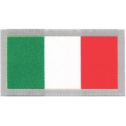 PATCH ADESIVA IN TESSUTO BANDIERA ITALIANA 7,8 x 4,2 cm.