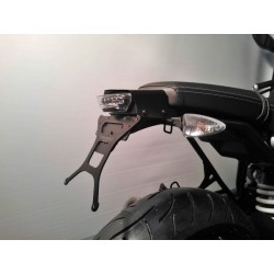 ADJUSTABLE ALUMINUM LICENSE PLATE SUPPORT FOR BMW R NINE T 2014/2020