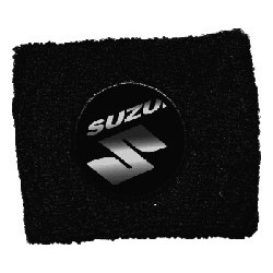 CUFF PROTECTION TANK OIL BRAKES WITH COAT OF ARMS SUZUKI, BLACK COLOR
