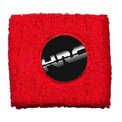 BRAKE OIL TANK PROTECTION CUFF WITH HRC EMBLEM, RED COLOR