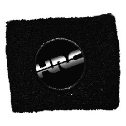 BRAKE OIL TANK PROTECTION CUFF WITH HRC EMBLEM, BLACK COLOR