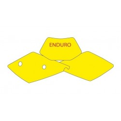 BLACKBIRD NUMBER STICKER KIT ENDURO MODEL FOR KTM EXC / EXC-F 2000/2003 (ALL DISPLACEMENTS)