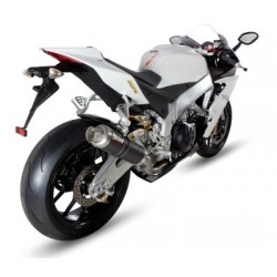 MIVV GP EXHAUST TERMINAL IN CARBON FOR APRILIA TUONO V4 R 2011/2016, APPROVED