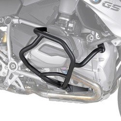 ENGINE GUARD KAPPA KN5108 FOR BMW R 1200 R 2015/2019, R 1200 RS 2015/2019, BLACK COLOR