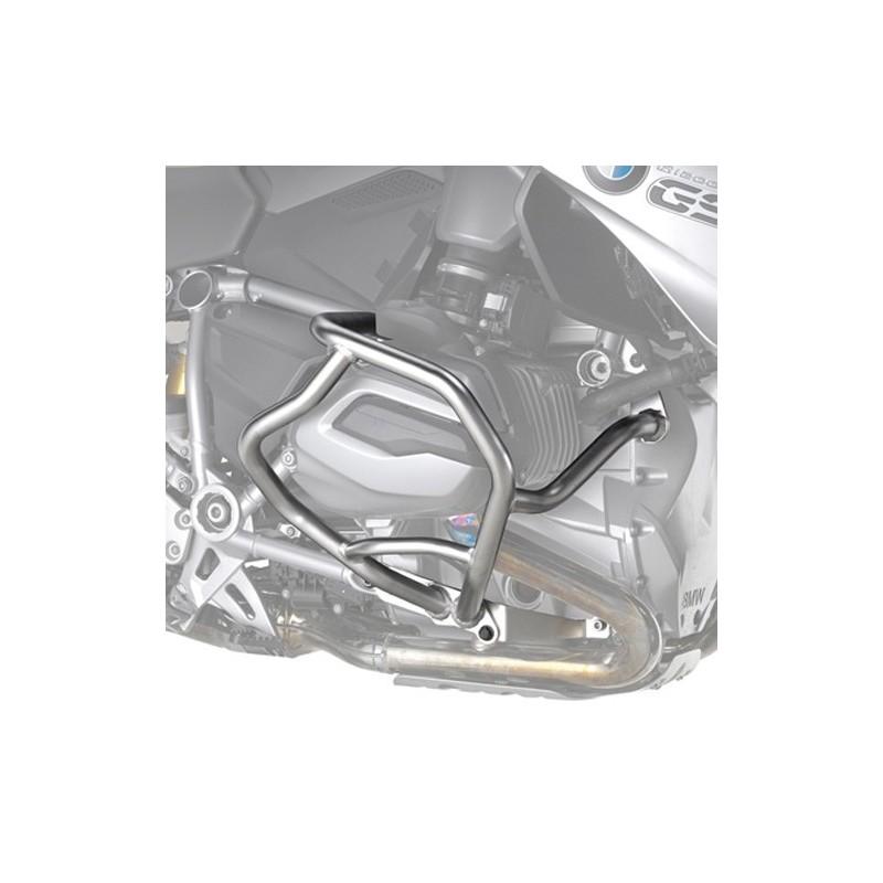 PARAMOTORE KAPPA IN ACCIAIO INOX KN5108OX PER BMW R 1200 R 2015/2018, R 1200 RS 2015/2018