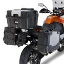 PORTAVALIGIE LATERALE AD AGGANCIO RAPIDO LR7706 PER VALIGIE LATERALI MONOKEY PER KTM 1050 ADVENTURE 2015/2016
