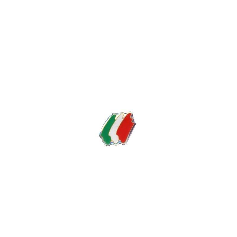ADESIVO 3D BANDIERA ITALIA SAGOMATA mm 45x40