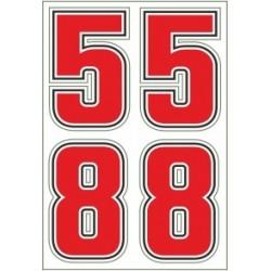 ADESIVO 58 SIC CM 6 x 4