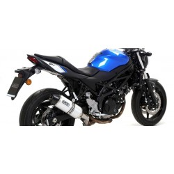 ARROW RACE-TECH ALUMINUM EXHAUST PIPE CARBON BASE FOR SUZUKI SV 650 2016/2020, APPROVED