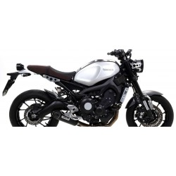 ARROW COMPLETE EXHAUST SYSTEM WITH JET RACE TERMINAL IN STEEL DARK CARBON BASE FOR YAMAHA XSR 900 2016/2019