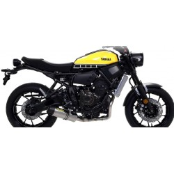 ARROW COMPLETE EXHAUST SYSTEM WITH JET RACE TERMINAL IN TITANIUM CARBON BASE FOR YAMAHA XSR 700 2016/2020
