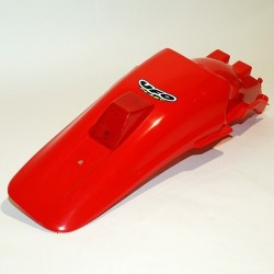 REAR FENDER WITH LICENSE PLATE/STOP UFO FOR HONDA XR 650 R 2000/2007