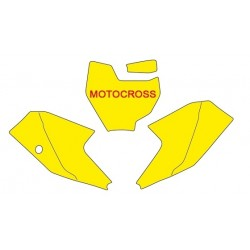 BLACKBIRD NUMBER STICKER KIT MOTOCROSS MODEL FOR KTM SX 65 2016/2018