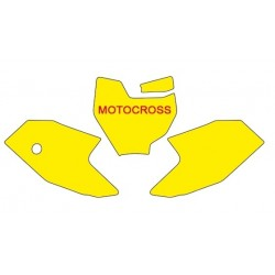 BLACKBIRD NUMBER STICKER KIT MOTOCROSS MODEL FOR KTM SX 50 2016/2018