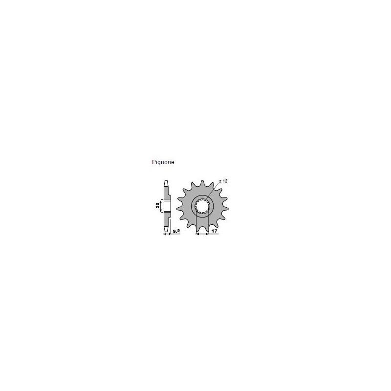 PIGNONE IN ACCIAIO PER CATENA 428 PER KTM SX 85 2007/2016*