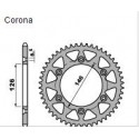CORONA IN ACCIAIO PER CATENA 520 PER SUZUKI DRZ 400 2000/2007, RM-Z 450 2005/2016