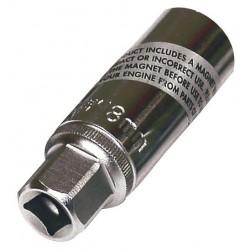 CHIAVE A BUSSOLA MAGNETICA 18 MM PER CANDELE CON ATTACCO 3/8