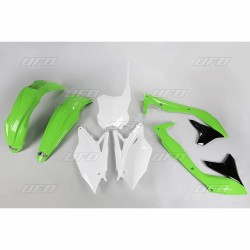 PLASTIC KITS UFO AS ORIGINAL FOR KAWASAKI KX 450 F 2016/2017
