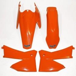 KIT PLASTICHE UFO COME ORIGINALI PER KTM SX/SX-F (NO CILINDRATE INFERIORI A CC 125) 2005/2006
